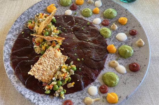 Carpaccio-vegetariano